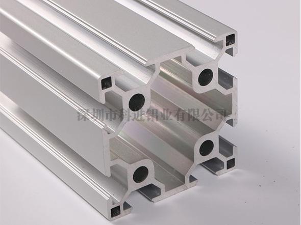 欧标6060双槽铝型材