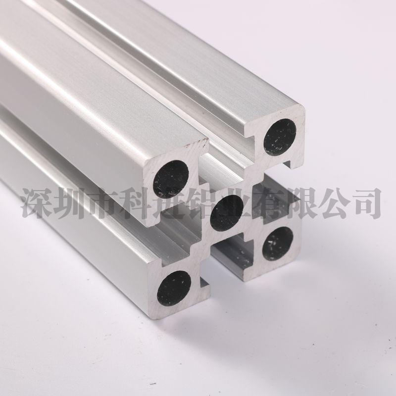 无锡4040国标工业铝型材F型槽8加厚款