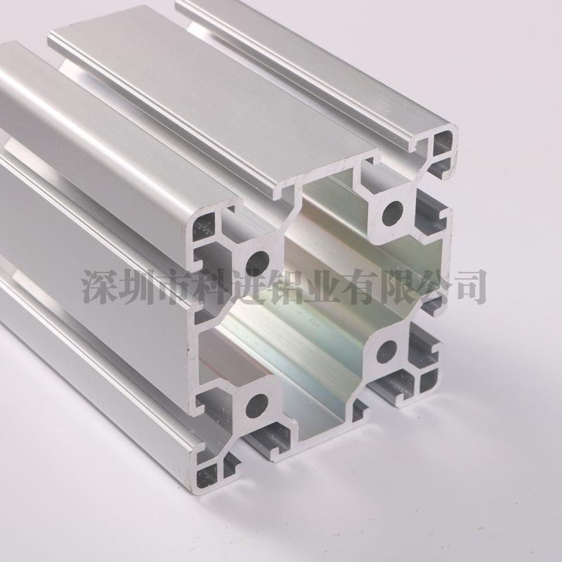 8080欧标工业铝型材T型槽8双槽铝型材